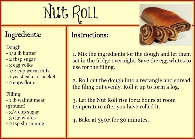Nut RollRecipe